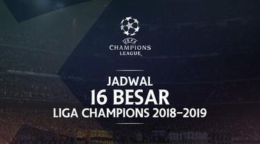 Berita video jadwal 16 Besar Liga Champions 2018-2019 leg 1. Manchester United jamu PSG di Old Trafford, Manchester.