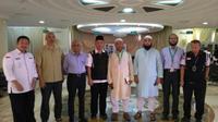 Tim misi haji Bangladesh apresiasi penyelenggaraan haji Indonesia. (www.haji.kemenag.go.id)