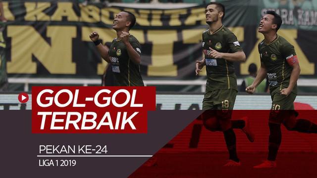 Berita video gol-gol terbaik yang tercipta pada pekan ke-24 Shopee Liga 1 2019. Gol siapa yang menjadi favoritmu?