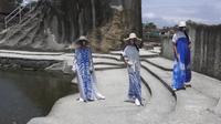 Fashion show virtual hasil gebrakan dari Asosiasi Perancang Pengusaha Mode Indonesia (APPMI) Daerah Istimewa Yogyakarta. Gebrakan ini dilakukan agar desainer tetap bisa menampilkan dan menjual hasil karya terbarunya. (Foto: Liputan6.com)