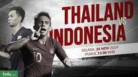 Sepak Bola SEA Games 2019: Thailand vs Indonesia. (Bola.com/Dody Iryawan)