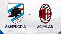 Liga Italia: Sampdoria Vs AC Milan. (Bola.com/Dody Iryawan)