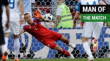 Berita video daftar kiper yang meraih man of the match hingga 16 besar Piala Dunia 2018.
