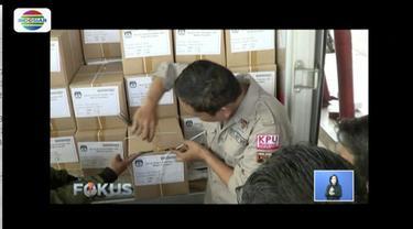 Sebanyak 1,7 juta surat suara Pilpres 2019 untuk Jakarta Selatan sudah disimpan di GOR Pancoran dan GOR Cilandak.