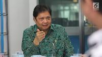 Menteri Perindustrian Airlangga Hartarto. (Liputan6.com/Fatkhur Rozaq)
