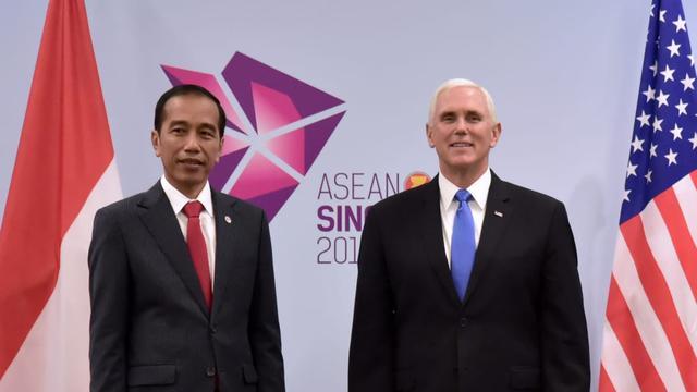 Presiden Jokowi dan Wapres AS Bertemu di Sela KTT ASEAN, Ini yang Dibahas
