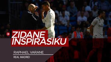 Berita Video Sosok Zidane di Mata Bek Real Madrid, Raphael Varane
