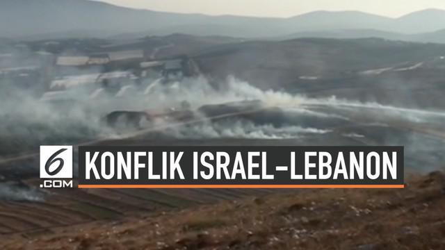 Militer Israel menuduh Lebanon memulai serangan ke wilayahnya hingga harus membalas tembakan hari Minggu (1/9/2019). Baku tembak ini terjadi di daerah perbatasan kedua wilayah.