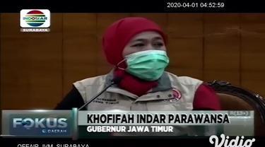 Penyebaran virus corona COVID-19 di Jawa Timur menunjukkan tren perlambatan. Hal itu terbukti dengan penambahan pasien positif yang menurun. 19 pasien positif corona Covid-19 dinyatakan sembuh.