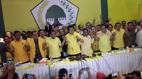 Golkar pilih Airlangga Hartarto sebagai ketua umum. (Liputan6.com/Putu Merta Surya Putra)