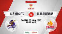 CLS Knights Vs Alab Pilipinas_2 (Bola.com/Adreanus Titus)