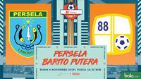 Shopee Liga 1 - Persela Lamongan Vs Barito Putera (Bola.com/Adreanus Titus)