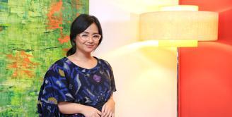 Penyanyi dan pemeran, Gita Gutawa belakangan ini sedang sibuk mengaransemen ulang lagu nasional. Proyek baru putri Erwin Gutawa itu diberinama Gita Puja Indonesia. (Adrian Putra/Bintang.com)