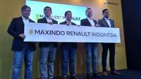 Renault Asia Pacific menunjuk Nusantara Maxindo Group sebagai pemegang hak dalam hal mengimpor, memasarkan, mendistribusikan dan mengelola produk Renault di Indonesia. (M. Ikbal)