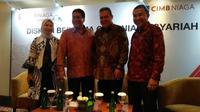 Diskusi bersama CIMB Niaga Syariah pada Rabu (27/3/2019)  (Foto:Merdeka.com/Anggun P.Situmorang)