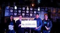 17 Live menjadi apliksi live streaming pertama di Indonesia yang menghadirkan kuis trivia live bernama 17Q (Liputan6.com/Vinsensia Dianawanti)