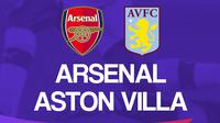 Premier League - Arsenal Vs Aston Villa (Bola.com/Adreanus Titus)