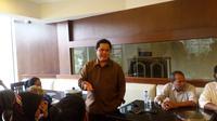 Presiden Panitia Asian Games Indonesia (INASGOC), Erick Thohir, mengatakan ada lima cabang olahraga yang berpeluang dicoret dari Asian Games. (Bola.com/Zulfirdaus Harahap)