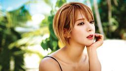 Mantan personel AOA, Choa mengalami kesulitan di awal kariernya. Ia berkali-kali ditolak JYP dan SM Entertainment. Akan tetapi FNC Entertainment melihat potensi dari Choa. (Foto: koreaboo.com)