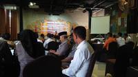 Evaluasi dan catatan penanganan tsunami Selat Sunda digelar di Kota Cilegon. (Liputan6.com/ Yandhi Deslatama)