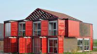 Patrick Partouche berhasil membuat rumah yang indah dari kotak kontainer bekas. (Foto:  Homedsgn.com)