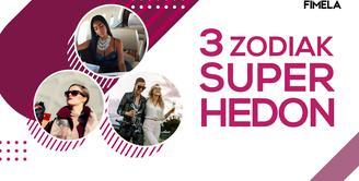 3 Zodiak Super Hedon