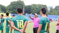 Pelatih Sriwijaya FC Rahmad Darmawan. (Liputan6.com/Indra Pratesta)