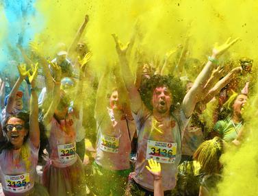 Festival Color Run di Ukraina