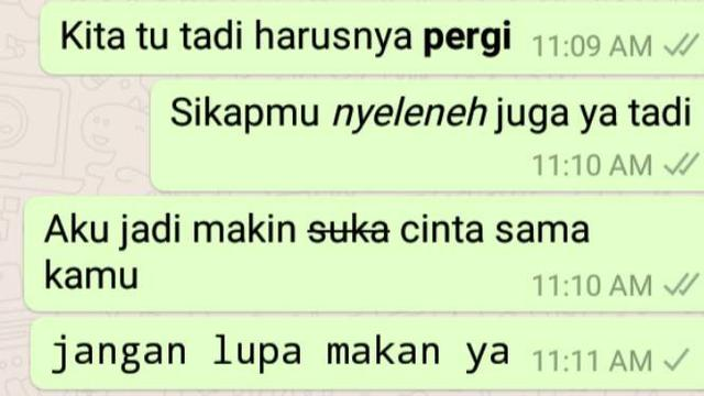 Obrolan di WhatsApp