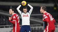 Jika para penggemar Tottenham Hotspur mengharapkan keajaiban dengan kembalinya Gareth Bale, maka jawabannya ada kekecewaan. Sepanjang musin, Bale baru main sebanyak enam kali dan itu juga sebagai pemain pengganti. (Foto: AFP/Pool/Shaun Botterill)
