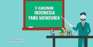 5 Ilmuwan Indonesia yang Mendunia