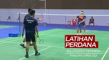 Berita Video Tim Bulutangkis Indonesia Gelar Latihan Perdana Jelang Thailand Terbuka 2021