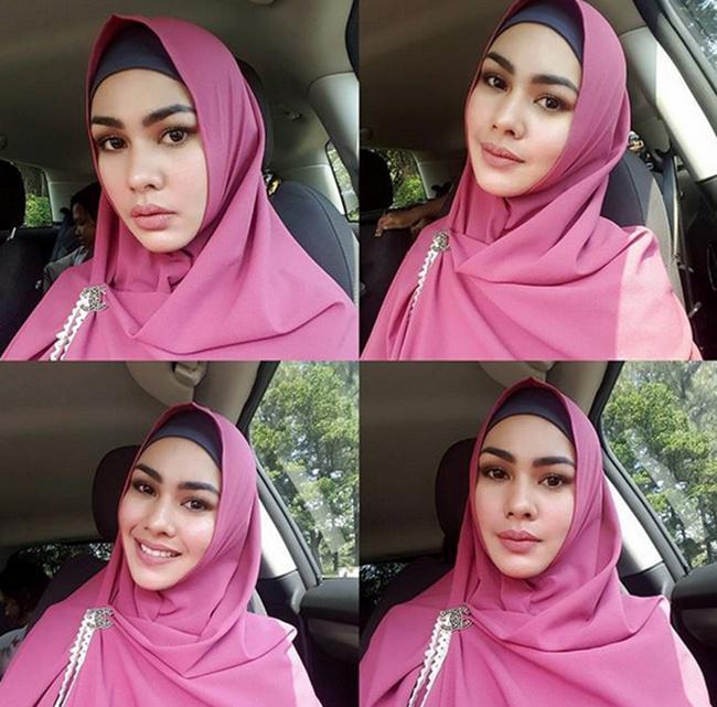 Kartika Putri semakin cantik dan menawan saat mengenakan hijab/copyright  instagram.com/kartikaputriworld