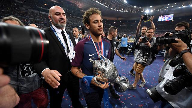 Neymar, PSG, Piala Prancis 2018