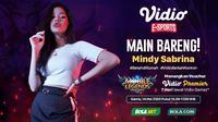 Main Bareng Mindy Sabrina (credit: Vidio)