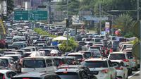Jalur Puncak Bogor Macet Parah hingga Cianjur (Foto: Liputan6/Achmad Sudarno)