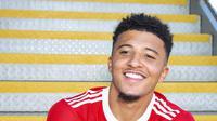 Pemain baru Manchester United, Jadon Sancho. (Dok. Manutd.com)