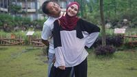 Zaskia Adya Mecca dan Hanung Bramantyo. (Instagram/@zaskiadyamecca)