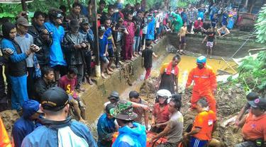 Tanah longsor di Bogor
