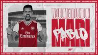 Pablo Mari. (Dok. Arsenal)