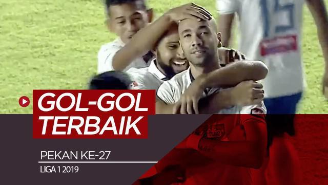 Berita video gol-gol terbaik yang tercipta pada pekan ke-27 Shopee Liga 1 2019.