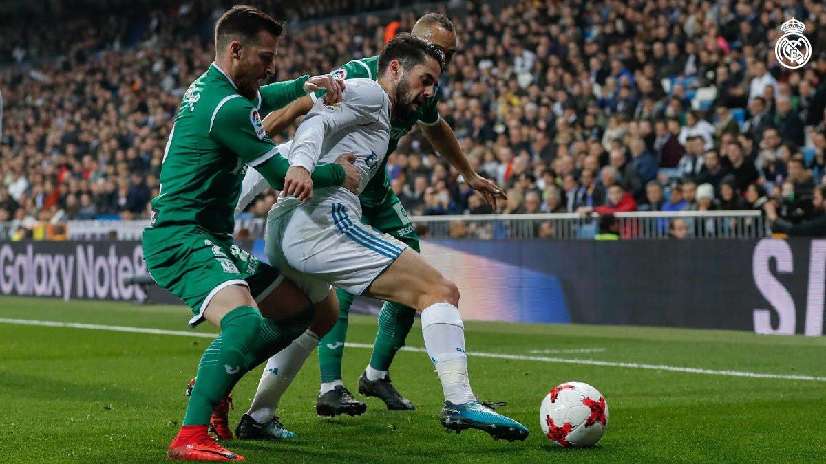 Real Madrid harus menerima kenyataan tersingkir dari perburuan gelar Copa del Rey 2017-2018. (Twitter Real Madrid)