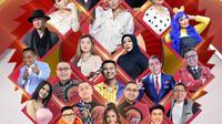 Indosiar menggelar Konser Raya Indosiar 26 Tahun Luar Biasa, Senin (11/1/2021) pukul 18.30 WIB live dari Studio Emtek City, Jakarta Barat