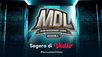 Saksikan Live Streaming MDL Season 4 Mulai Pekan Depan Eksklusif di Vidio. (Sumber : dok. vidio.com)
