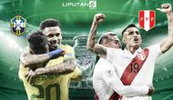 Banner Infografis Final Copa America 2019 Brasil Vs Peru. (Liputan6.com/Triyasni)