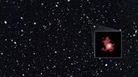 GN-z11, galaksi terjauh yang pernah ditemukan manusia (sumber: sci-news.com)