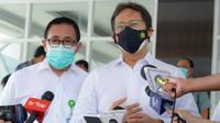 Menteri Kesehatan RI Budi Gunadi Sadikin meninjau Rumah Sakit Darurat COVID-19 Wisma Haji Jakarta pada Minggu, 11 Juli 2021 pagi. (Dok Rokom Kementerian Kesehatan RI/Loka)