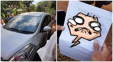 Kembalikan Mobil Curiannya, Maling Ini Tinggalkan Sepucuk Surat Permohonan Maaf