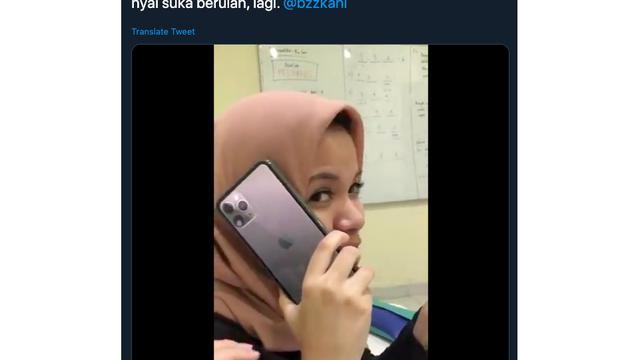 Pamer Iphone 11 Dengan Cara Konyol Wanita Ini Bikin Warganet
