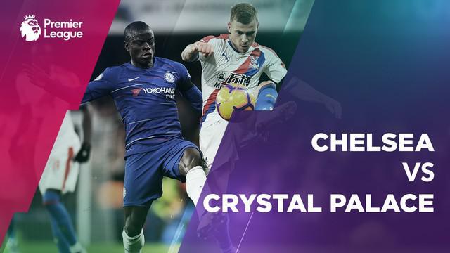 Berita video statistik laga Chelsea vs Crystal Palace pada laga pekan ke-11 Premier League 2018-2019, Minggu (05/11/2018).